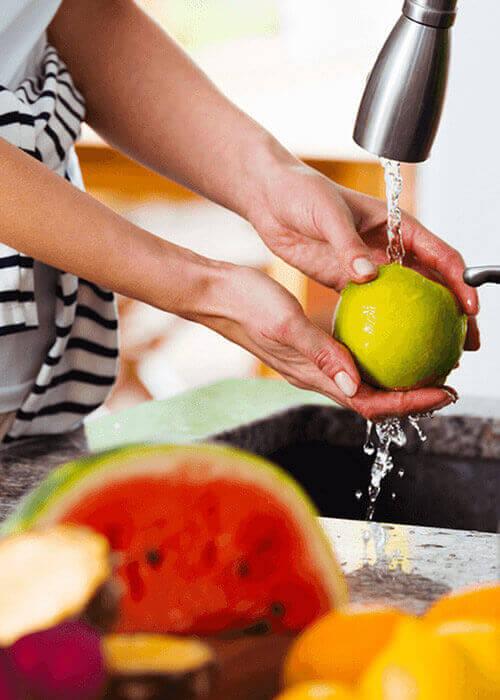 Meyve ve Sebze Yıkarken Damacana Su Kullanıyor musunuz?
